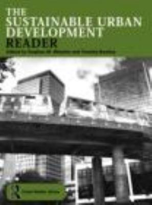 The Sustainable Urban Development Reader PDF