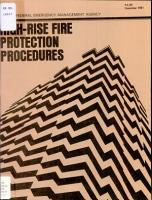 High  Rise Fire Protection Procedures PDF