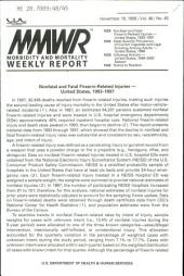 Morbidity and Mortality Weekly Report: MMWR, Volume 48, Issue 45