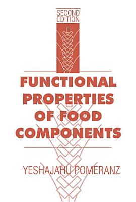 Functional Properties of Food Components