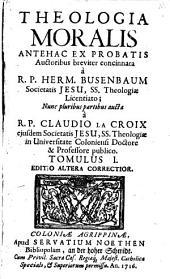 Theologia Moralis: Liber I. 1,[1]