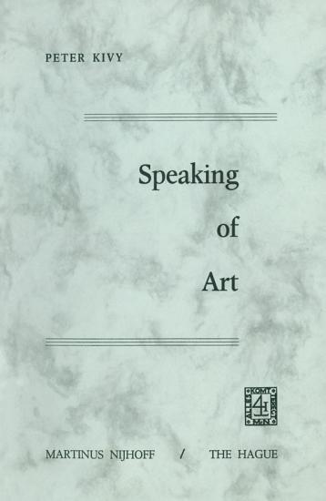 Speaking of Art PDF