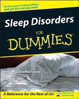 Sleep Disorders For Dummies PDF