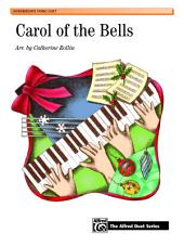 Carol of the Bells: Intermediate Piano Duet (1 Piano, 4 Hands)