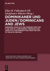 Dominikaner und Juden   Dominicans and Jews PDF