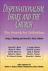 Dispensationalism Israel And The Church Book PDF