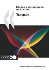 Études économiques de l'OCDE : Turquie 2004