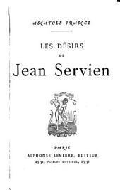 Les désirs de Jean Servien
