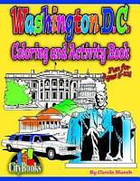 Washington DC Coloring   Activity Book PDF
