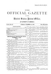 Official Gazette of the United States Patent Office: Volume 93