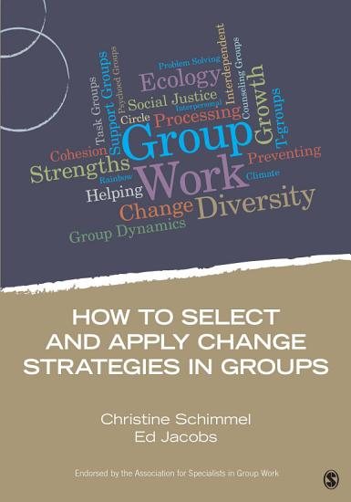 How to Select and Apply Change Strategies in Groups PDF