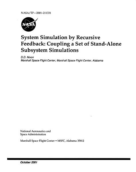 Download System Simulation by Recursive Feedback Book