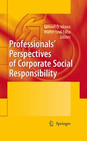 Professionals ́ Perspectives of Corporate Social Responsibility