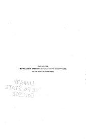 Pennsylvania State Reports Containing Cases Decided by the Supreme Court of Pennsylvania: Volume 101