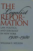 The Legalist Reformation PDF