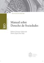 Manual sobre derecho de sociedades