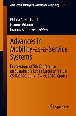 Advances in Mobility-as-a-Service Systems