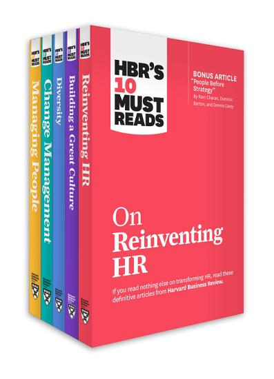 HBR s 10 Must Reads for HR Leaders Collection  5 Books  PDF