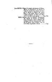 Storia di Milano del conte Pietro Verri: Volume 2