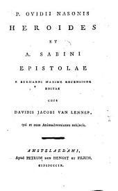 Heroides et A. Sabini epistolae
