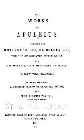 The Works of Apuleius PDF