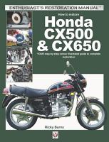 How to restore Honda CX500   CX650 PDF