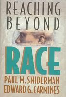 Reaching Beyond Race PDF