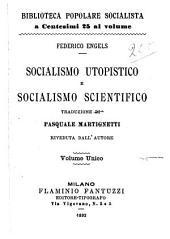 Socialismo utopistico e socialismo scientifico