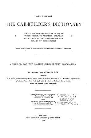 The Car builder s Dictionary PDF
