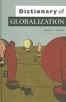 Dictionary of Globalization PDF