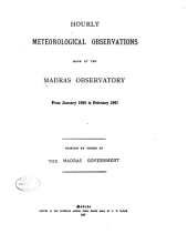 Hourly Meteorological Observations from January 1856 to February 1861