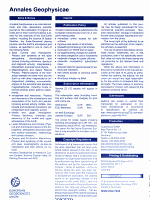 Annales Geophysicae  2001    PDF