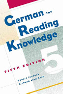 German for reading knowledge PDF
