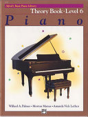 Alfred's Basic Piano Library - Theory Book 6