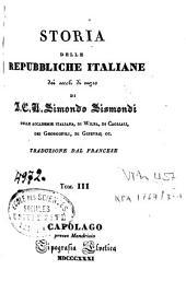 Storia delle repubbliche italiane dei secoli di mezzo: Volume 2