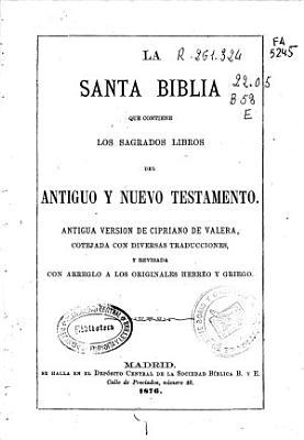 La Santa Biblia PDF