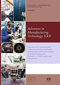 Advances in Manufacturing Technology XXX PDF