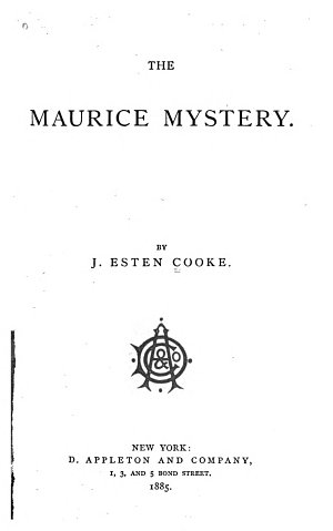 The Maurice Mystery