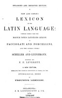 A New and Copius Lexicon of the Latin Language PDF