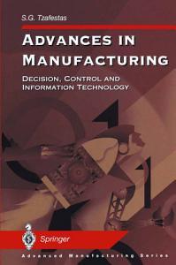Advances in Manufacturing PDF