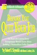Download Rich Dad s Before You Quit Your Job Book