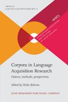 Corpora in Language Acquisition Research PDF