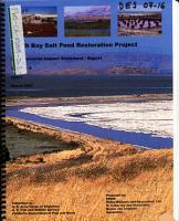 South Bay Salt Pond Restoration Project PDF