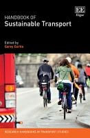 Handbook of Sustainable Transport PDF