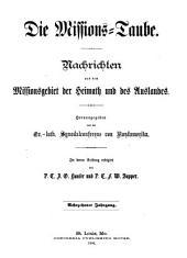 Missions-Taube: Volume 18