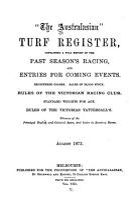 The Australasian Turf Register PDF