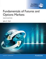 Fundamentals of Futures and Options Markets  Global Edition PDF