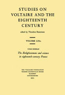 Download The Enlightenment and Science in Eighteenth century France Book