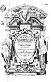 Les oeuvres d' André Du Laurens, trad. du latin en français par Theophile Gelée