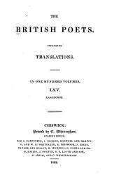 The Poems of John Langhorne: Volumes 65-67